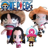 【ONE PIECE Ball Pouch】 ワンピース ボールポーチ 【C-138】【C-140】【C-141】【C-142】