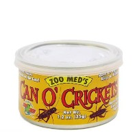 ZOOMED カン・オー クリケット CAN O CRICKETS 35g 爬虫類 餌 エサ 缶詰 関東当日便