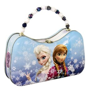 アナと雪の女王 バッグ The Tin Box Company Disney Frozen Scoop Carry All Tin