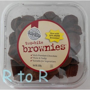 Homestyle 【TWO BITE BROWNIE ブラウニー 800g入り】 カナダ製