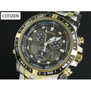 シチズン 腕時計 Citizen Eco-Drive Men's JR4054-56E Sailhawk Two-Tone Stainless Steel Watch 男性 メンズ シチズン腕時計