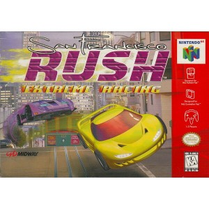【中古】 N64 北米版 SAN FRANCISCO RUSH EXTREME RACING