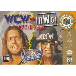 【中古】 N64 北米版 WCW VS NOW WORLD TOUR