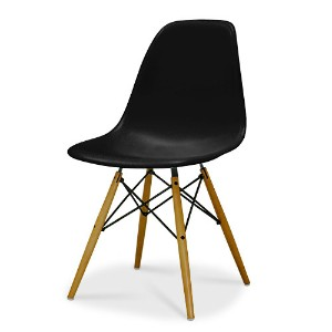 Eames Shell Chair イームズ チェア Side Chair(DSW) /ブラック【smtb-ms】【RCP】.