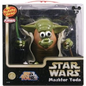 Star Wars Yoda Mr. Potato ヘッド Disney フィギュア