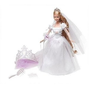 Barbie(バービー) Princess - Rapunzel's Wedding - Rapunzel's Wedding Doll ドール 人形 フィギュア