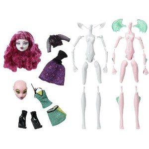 Monster High モンスターハイ Create-A-Monster Werewolf and Dragon Starter Set 人形 ドール