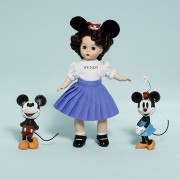 "Madame Alexander マダムアレクサンダー 8"" Mouseketeer Wendy, Disney ディズニー Favorites Collection"