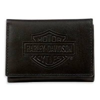 ハーレーダビッドソン Harley Davidson財布Harley-Davidson Men's Bar & Shield Logo Tri-Fold Short Walletハーレー純正 正規品 アメ...