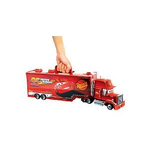 Disney ディズニー カーズ マックウィーン キャリーケース Pixar CARS 2 Movie Exclusive Carry Case Playset Mack Playcase
