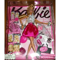 FAB GIRL Barbie Play Set Doll