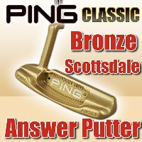 【PING】ピンブロンズ スコッツデール アンサー クラシック パター(BRONZE SCOTTSDALE ANSWER CLASSIC PUTTER)