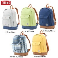 CHUMSプリーツドポケットデイパックスウェットキャンバス CH60-2024 [チャムス バックパック リュックサック Pleated Pocket Day Pack Sweat Canvas]