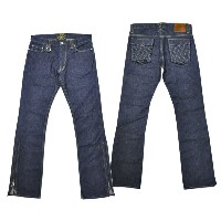 "【SKULL FLIGHT スカルフライト】ボトム/SS PANTS type2 ""QUILTING POCKET(ブーツカット)"" ★送料・代引き手数料無料!REAL DEAL"