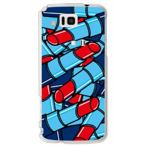 【Yes/No】ルージュ レッド (クリア) / for au AQUOS PHONE IS13SH ケース カバー[IS13SH]【アクオスフォン ケース is13sh ケース/カバー/CASE...