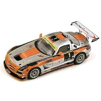 Spark 1/43 メルセデスベンツ SLS GT3 No.1 Winner 24H of Dubai 2013 (Limited 500pcs)