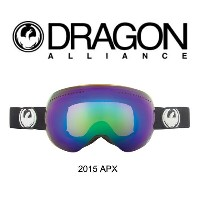 2015 DRAGON ドラゴン ゴーグル GOGGLE APX COAL/GREEN IONIZED