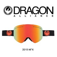 2015 DRAGON ドラゴン ゴーグル GOGGLE NFX JET/RED ION+YELLOW BLUE ION