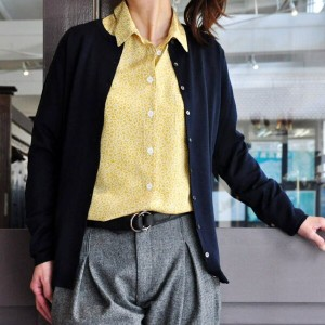 JOHN SMEDLEY(ジョンスメドレー)/ ANTIONETTE (ANTIONETTE PETITE FIT CARDIGAN CREW)
