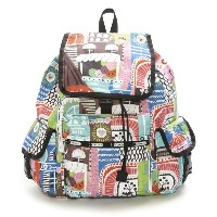 LeSportsac レスポートサック 7839-D581 Voyager Backpack(ボヤージャーバックパック)St.Barts/リュックサック【送料無料】