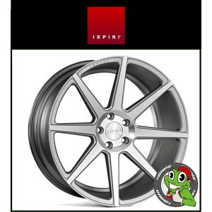 20インチ【Ispiri Wheel ISR8】20×8.5J 5/112 +35 HUB:66.56φ【Satin Silver Machined(サテンシルバーマシン)】【2085】...