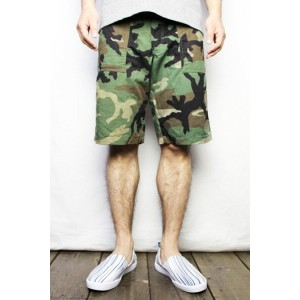 ガンホーGUNG HO#1050P WOODLAND 4POCKET FATIGUE SHORTSW31(COLOR : W.CAMO No2)【05P06Aug16】【RCP】