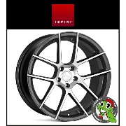 20インチ【Ispiri Wheel ISR6】20×10.0J 5/112 +25 HUB:66.56φ【Satin Graphite Machined(サテングラファイトマシン)】【20100】...