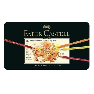 【FABER-CASTELL】ポリクロモス色鉛筆セット120色缶入