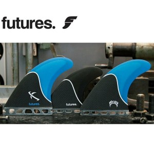 FUTURES FINS フューチャーフィン LOST LARGE 5FIN [BLUE BLACK] 5フィン