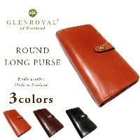 GLENROYAL(グレンロイヤル)/ROUND LONG PURSE/bridle leather