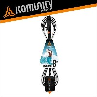 Komunity◆KP 8' STANDARD LEASH - 7MM - BLACK●リーシュ8f 7mm ブラック