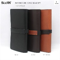 SLOW(スロウ)DOUBLE OIL LONG WALLET 3color ダブルオイルロングウォレット