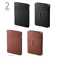 PRECISION by GRAMAS LC204 PU Leather Case for iPad mini Retinaディスプレイモデル/第1世代 LC204BK LC204CH グラマス...