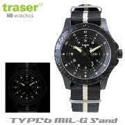 【Traser Watches】トレーサー trigalight 軍事用時計 「TYPE6 MIL-G Sand」