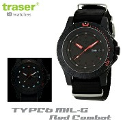 【Traser Watches】トレーサー trigalight 軍事用時計 「TYPE6 MIL-G RED COMBAT」レッドコンバット