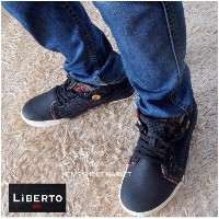 LIBERTO EDWIN AW Lining Check Shoes 【RCP】