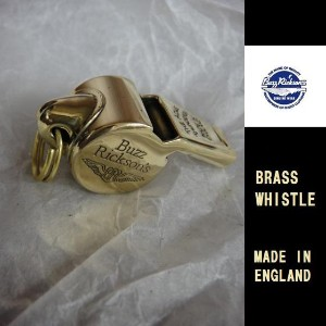 BuzzRickson's☆BRASS WHISTLE U.S.ARMY AIR FORCES(THE ACME THUNDERER) ブラスホイッスル MADE IN ENGLAND...