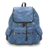 LeSportsac レスポートサック 7839-D632 Voyager Backpack(ボヤージャーバックパック)Tropical Reef/リュックサック
