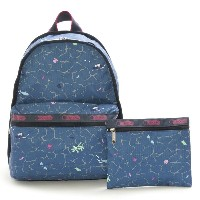 LeSportsac レスポートサック 7812-D632 Basic Backpack(ベーシックバックパック)Tropical Reef/リュックサック