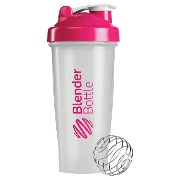 Blender Bottle(ブレンダーボトル) Classic Clear(クラシッククリア) 28オンス(800ml) BBCL28 PK ピンク