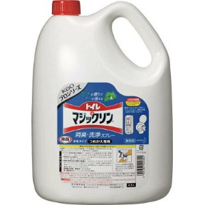 Kao トイレマジックリン消臭・洗浄スプレー 4.5L【504302】(労働衛生用品・トイレ用品)