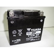 YUASA / YTX5L-BS (STX5L-BS GTX5L-BS FTX5L-BS KTX5L-BS互換) バイク用バッテリー 密閉型 5L-BS