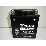 YUASA / YTX7L-BS(STX7L-BS GTX7L-BS FTX7L-BS KTX7L-BS互換) バイク用バッテリー 密閉型 7L-BS