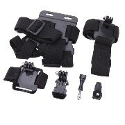 Andoer Gopro HD Hero用 アクセサリセット 7 in1 for GoPro HD HERO1/2/3/3+/4 and Sony Action Cam HDR-AS15/AS20/AS30V/AS100V/AZ1 並行輸入品