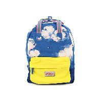Cath Kidston キャスキッドソン リュックサック 2015年春夏 483179 Small Cotton Backpack Clouds True Blue [並行輸入品]