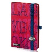 Lany book『4 Sexy Notes Only(Rosso + Blu scuro)』A6サイズ【Made in italy】《送料無料》《後払い対応》【文房具 文具 ステーショナリー...