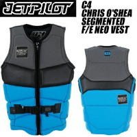 JETPILOT ジェットパイロット 2015年モデル JA4299 C4 CHRIS O'SHEA SEG F/E NEO VEST (BLUE) 【05P14Sep17】