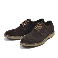 【SPERRY TOPSIDER】 スペリートップサイダー COMMANDER CAP TOE SUEDE コマンダー キャップトゥ スエード STS13033 BROWN