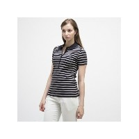 【SALE/30%OFF】LACOSTE (W)ボーダーポロシャツ (半袖) ラコステ カットソー【RBA_S】【RBA_E】【送料無料】