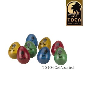 TOCA エッグシェーカー Gel Assorted T-2104